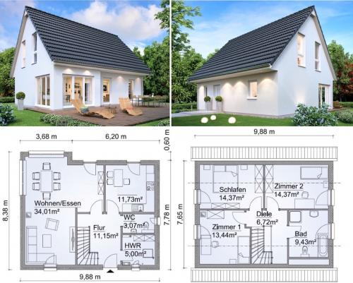 Как на даче построить дом. Порядок и этапы строительства дачного домика