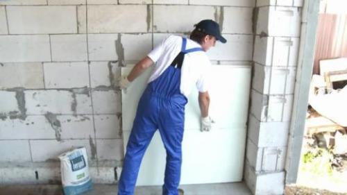 Можно ли утеплять дом из газобетона пенопластом снаружи. Способ утепления